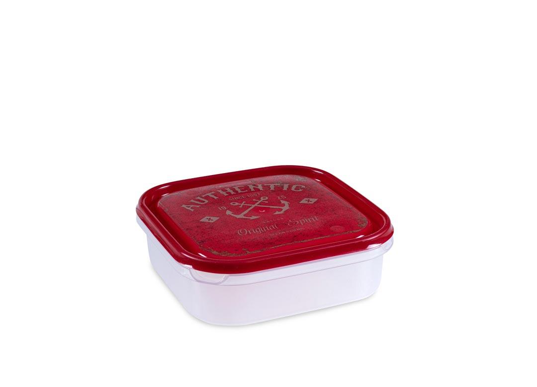 Inbar Decorative Container 1.3L 7130 Red AUTHENTIC