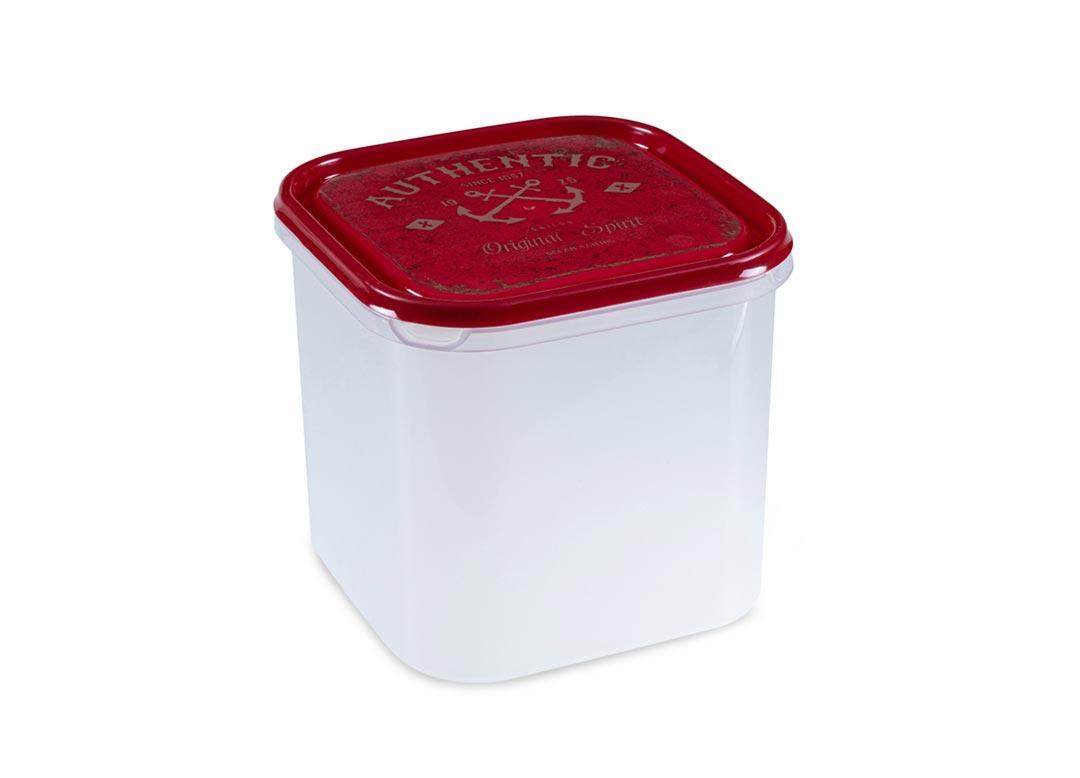 Inbar Decorative Container 4.2L 7420 AUTHENTIC Red