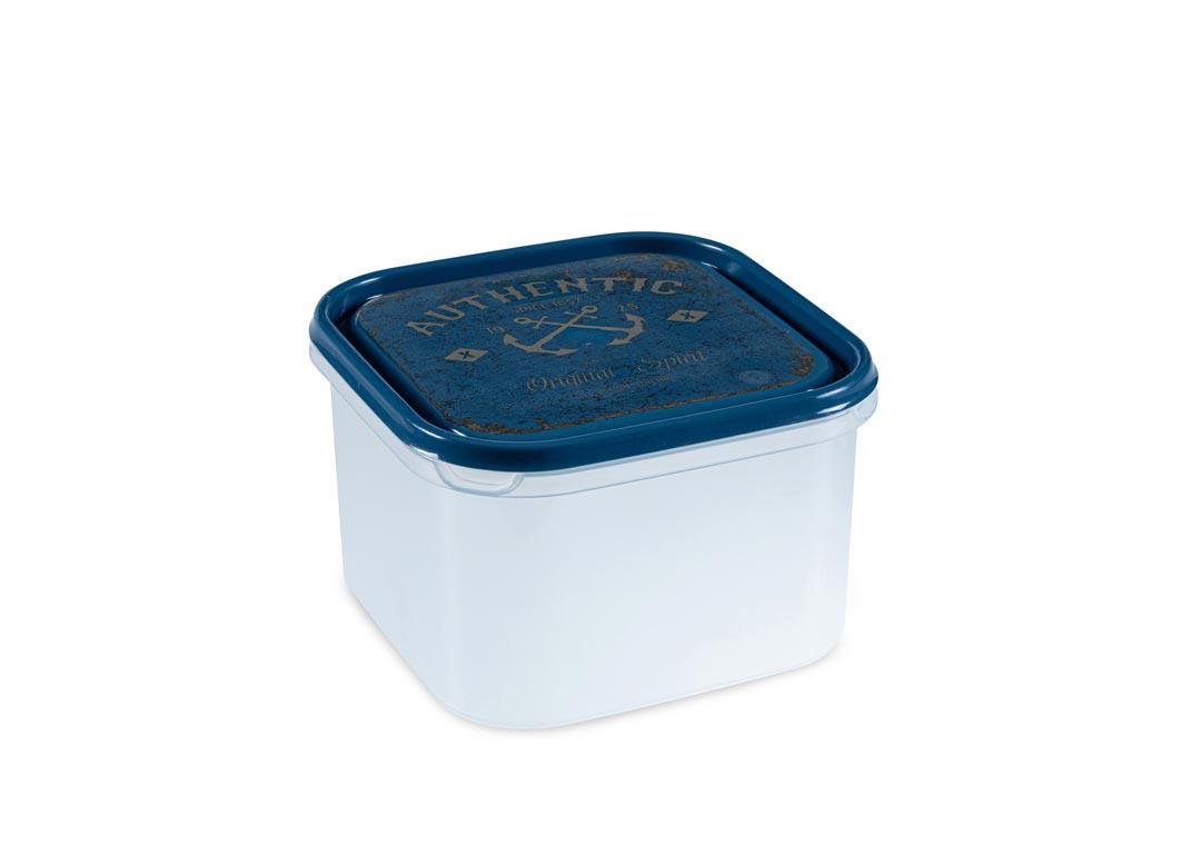 Inbar Decorative Containers 2.8L 7280 AUTHENTIC Blue