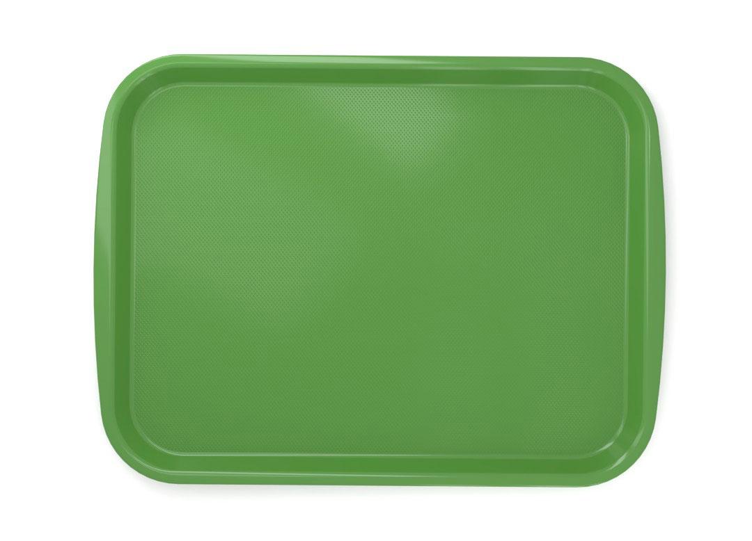 Large Rectangular Tray PC 45x35cm 4535 Green