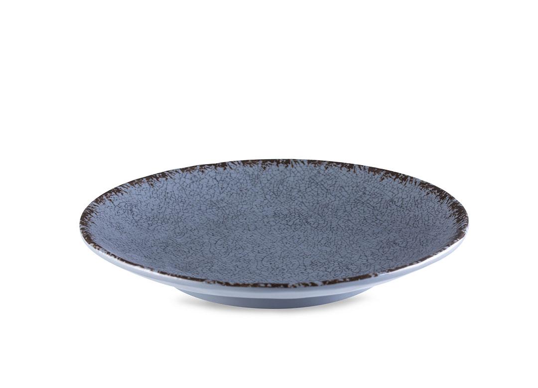 Opal Flat Plate 21.5X3.2cm 1080 Grey