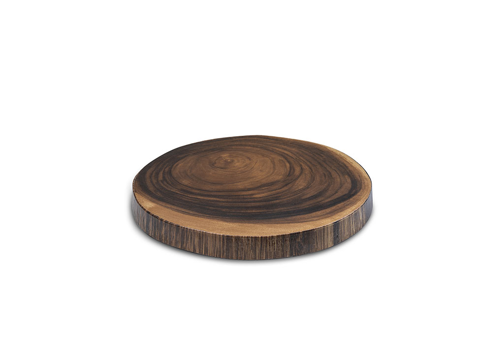 Round Serving Board Wood-Like 33x33x3cm 1068 Wood-Like